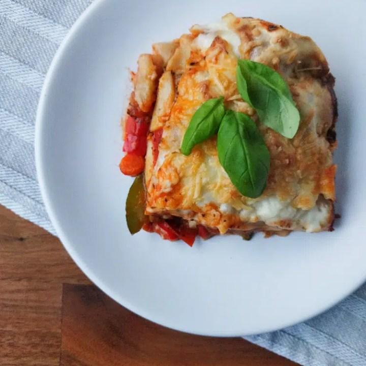 lasagna slice