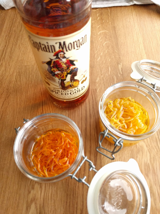 Orange and lemon zest extract - Alcohol extraction - Food Crumbles