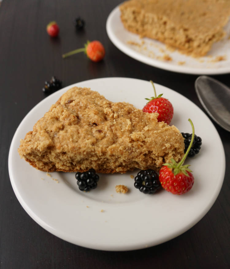barbecookie with fresh fruits
