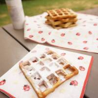 Hot cross waffles