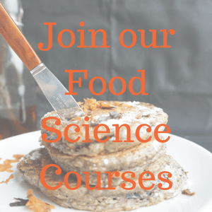 Join our online courses in food science
