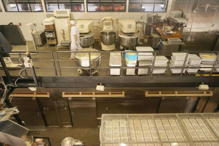 boudin bakery factory section
