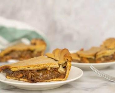 slices of beef pie