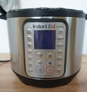 Instantpot Duo Plus front view