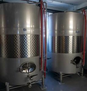 cider fermentation tanks