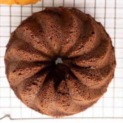 small chocolate bundt cake