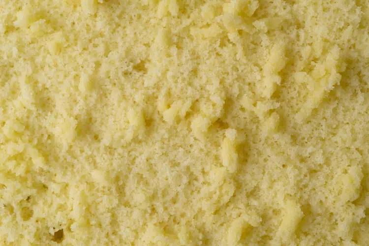 sponge cake texture