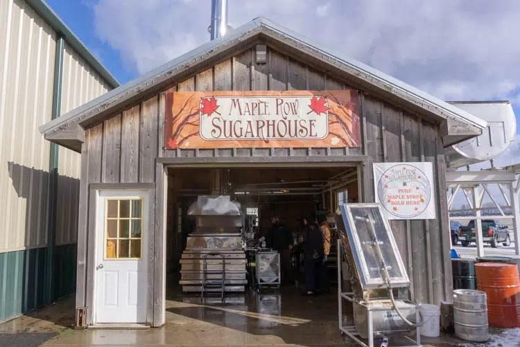 maple row sugarhouse