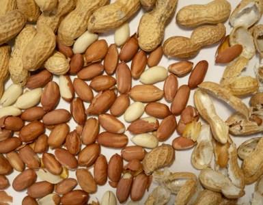 peanut shelled and unshelled