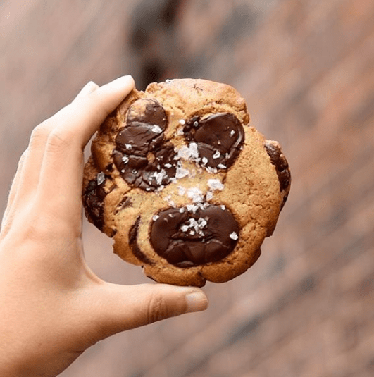 The Smile Chocolate Chip Sea-Salt Cookie