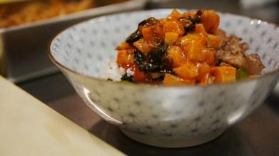 scallop & otoro bowl
