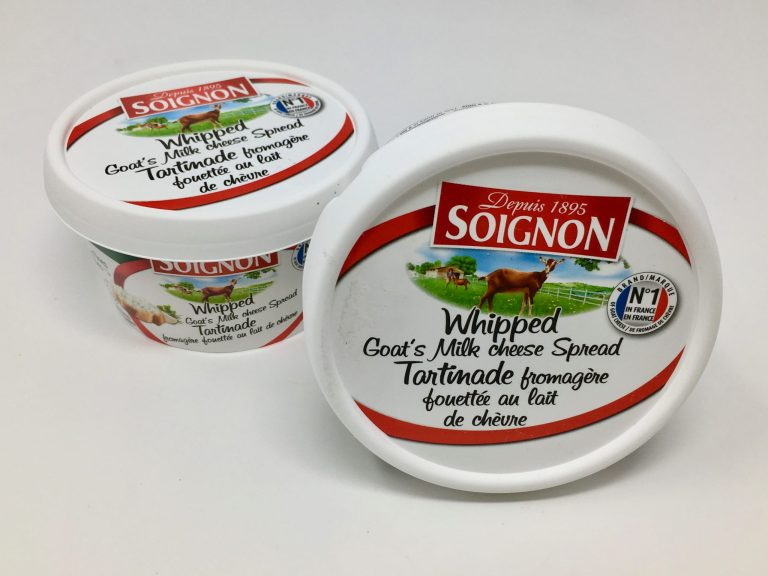 Whipped Goat Milk Cheese Spread
