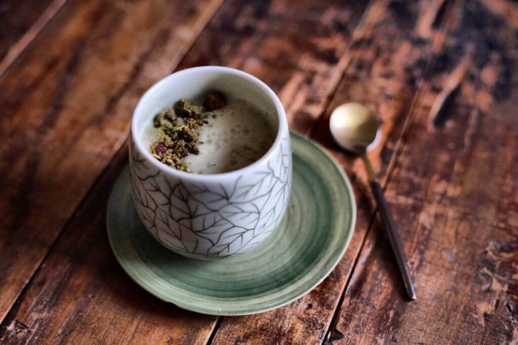 chef a domicile thé matcha
