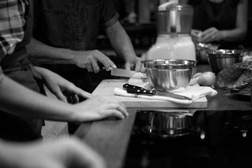 atelier de cuisine prestation