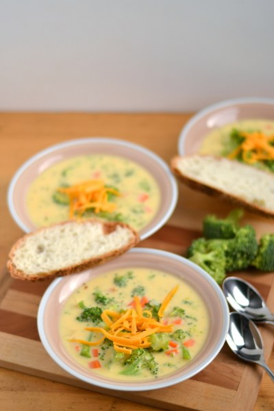 Cheddar Broccoli Soup Image