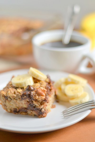Banana Chocolate Chip Baked Oatmeal Image