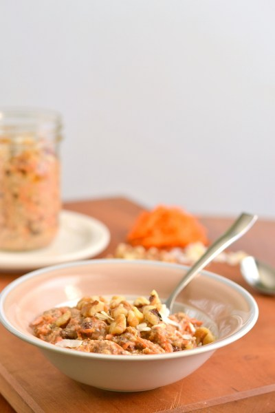 Carrot Cake Overnight Oats Image