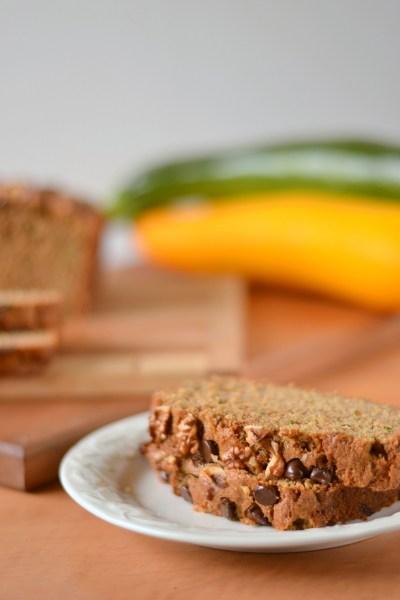 Whole Wheat Zucchini Bread Image