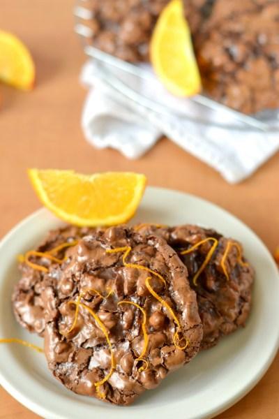 chocolate-orange-flourless-puddle-cookies-4