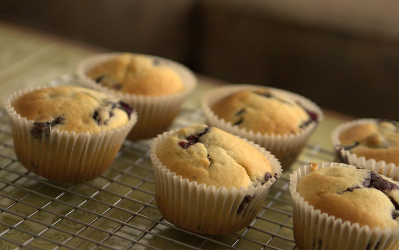 How to Make Low Carb Blueberry Muffins