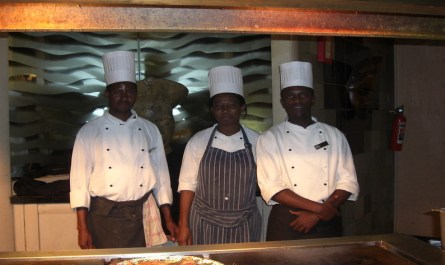 Become a chef in Nigeria