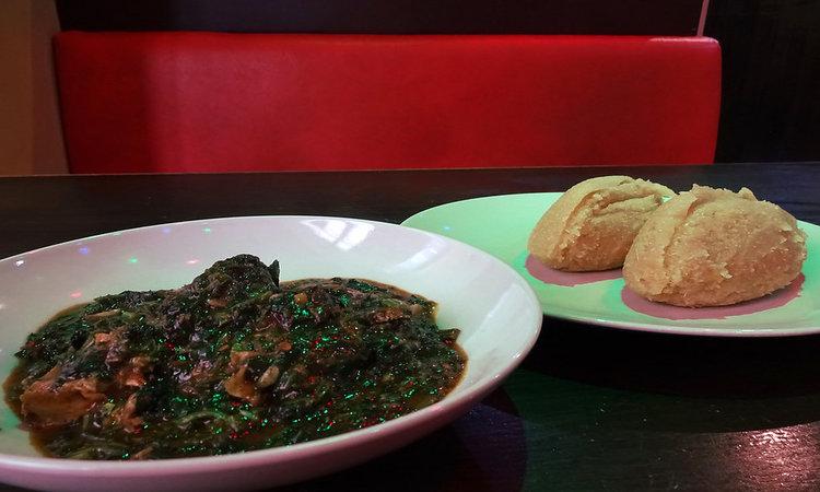 Nigerian Foods - Edikang Ikong