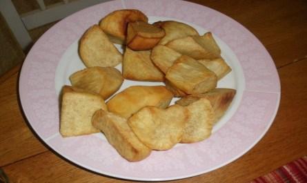 Nigerian Fried Yam
