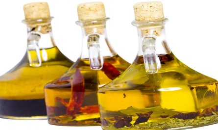 Organic Herbs Infused Cooking Oils