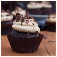 Chocolate Irish Coffee Cupcakes