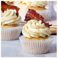 Maple Bacon Cupcakes (with a touch of whisky)