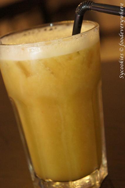 7.utopia vegetarian cuisine- bittergourd juice (3)