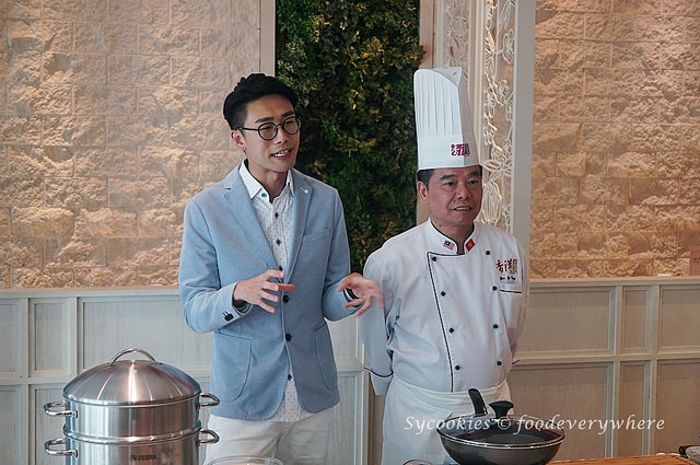 2.Cooking Demonstration with In Style Hong Kong (Hong Kong Trade Development Council) by Hong Kong Celebrity, Luk Ho Miing