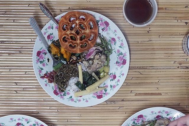 14.Iban delicacies at the Bawang Assan Longhouse Village