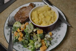 Simple Stovetop Mac and Cheese & Lemon Poppyseed Broccoli Salad