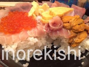 神田メガ盛り海鮮丼まぐろ亭超贅沢丼大盛り13