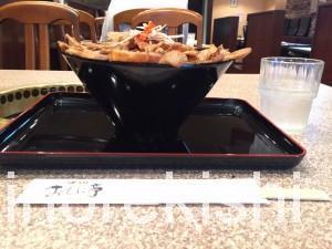 西葛西メガ盛り焼肉おもに亭ランチメガ豊熟もち豚丼11