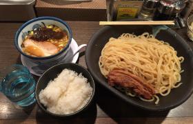 秋葉原メガ盛りラーメンばんからメガつけ麺8