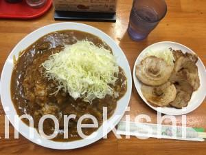 築地デカ盛り印度カレー中栄(なかえい)炙りチャーシューカレー特盛2
