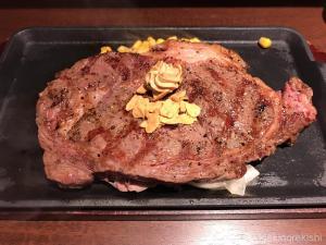 いきなりステーキ国産熟成リブロースステーキ