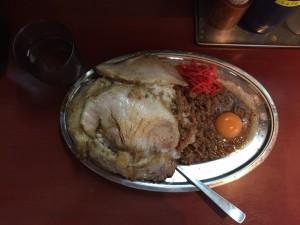 神田立川マシマシマシライス大盛りもやし豚マシインスパイア5