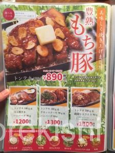 メガ盛りハンバーグステーキのくいしんぼ神田神保町店ライスおかわり自由大盛り21
