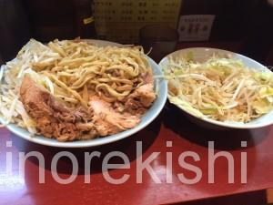 神田デカ盛り立川マシマシ大ラーメン野菜マシ3