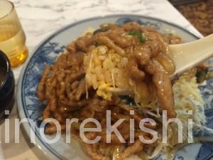 雁川がんせん秋葉原中華料理デカ盛り豚肉生姜焼きチャーハントリプル盛つけ麺どっかん盛10