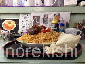 勝どきデカ盛りくすの樹くすのきチャレンジナポリタンアイスコーヒー東京都中央区制限時間喫茶店15
