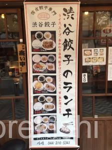 京急川崎大森ランチ渋谷餃子W定食薄皮スープライスおかわり自由無料安い飲みビール大皿美味しい16