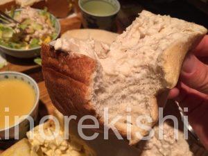 デカ盛りサンドイッチ東銀座アメリカンタマゴサンドランチ巨大人気有名朝食モーニングチキン築地6