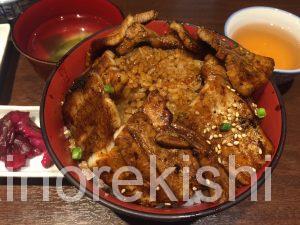 神田デカ盛りランチ魚串さくらさく炭火豚丼ご飯特盛肉増し居酒屋10