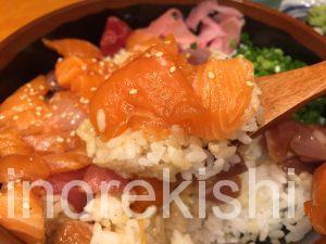 人形町海鮮丼築地ととどんとと丼特盛渋谷お茶早い美味しい4