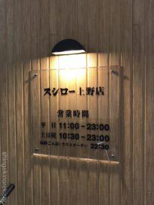 回転寿司スシロー上野店御徒町メニュー都心型まぐろえびあじラーメンデカ盛り進撃の歴史2