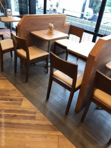 ミスタードーナツミスドチェーン店で一番大きいメニューを注文してみたカフェ船堀駅前ショップデカ盛り進撃の歴史9